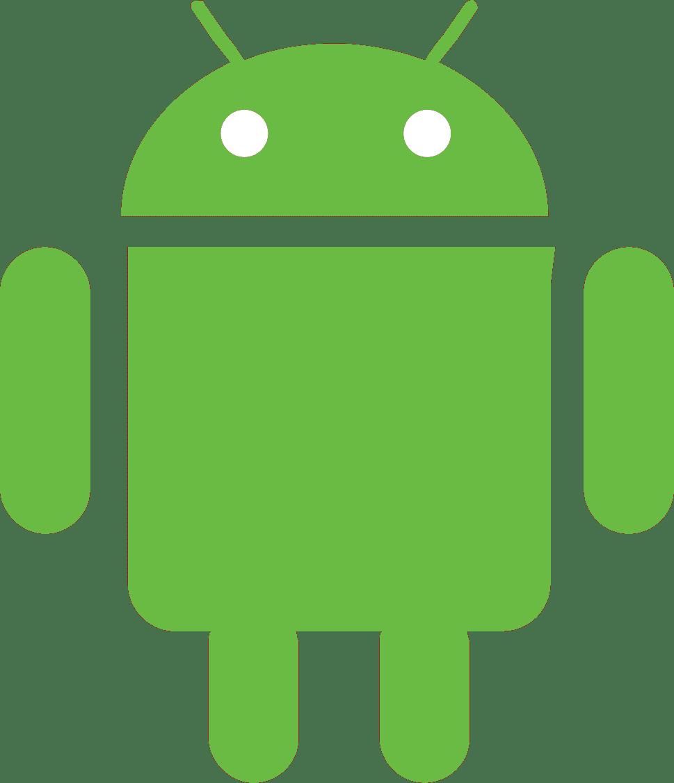 android logo vert
